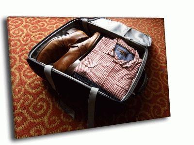 Картина чемодан для мужчины