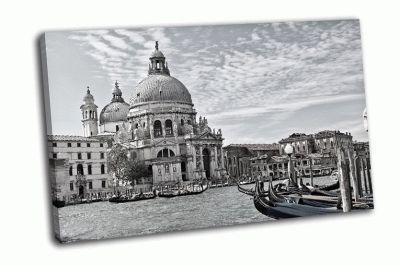 Картина черно-белый гранд канал