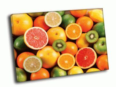 Картина цитрусовые