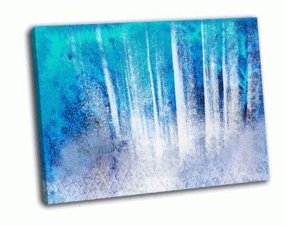 Картина cтены слоистой текстуры