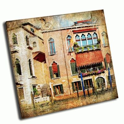 Картина цвета венеции