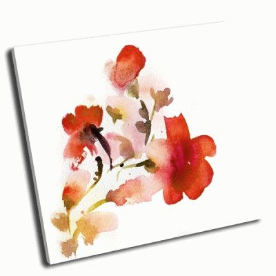 Картина цветочная картина акварелю