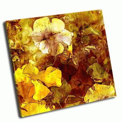Картина цветочный гранж-осенний урожай