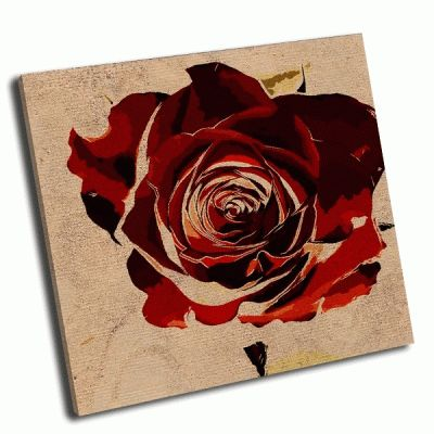 Картина цветочный красочный фон