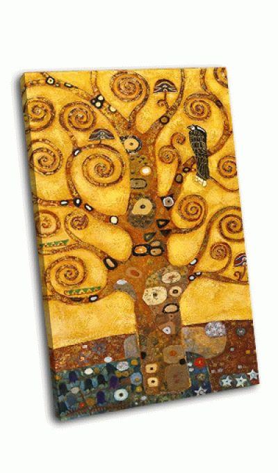 Картина дерево абстрактного кручения