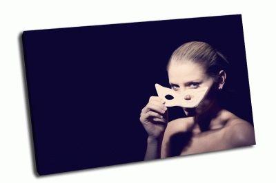 Картина девушка в карнавальной маске