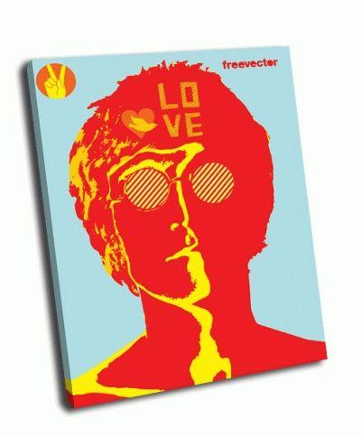 Картина джон леннон - любовь