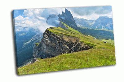 Картина долины фюнес и гардена