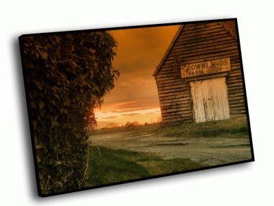 Картина домик на ферме