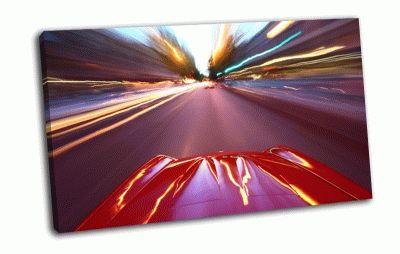 Картина дорога, скорость