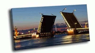 Картина дворцовый мост