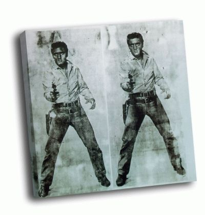 Картина э. уорхол - double elvis, 1963, private
