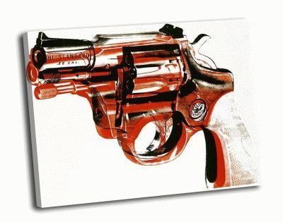 Картина э. уорхол - gun