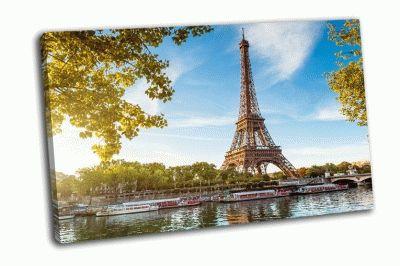 Картина эйфелева башня, франция