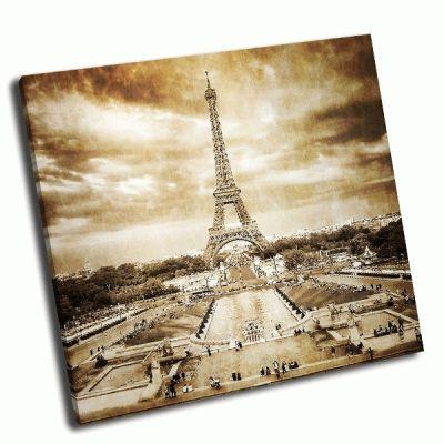 Картина эйфелева башня париж