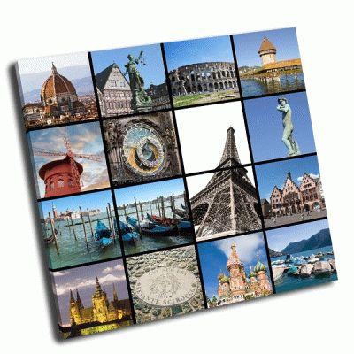 Картина европейские ориентиры коллаж