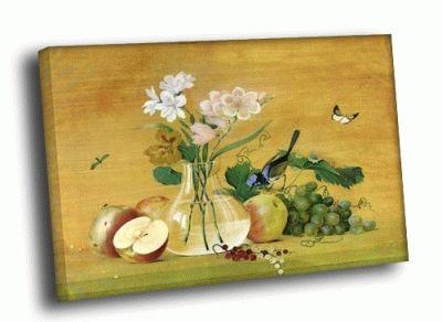 Картина ф.п. толстого - «цветы, фрукты, птица»