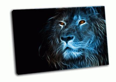 Картина фантзия льва
