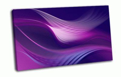 Картина фиолетовый  ветер