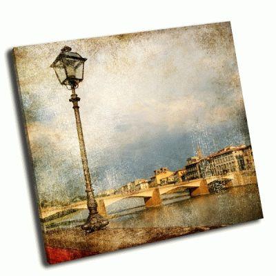 Картина флоренция в ретро стиле