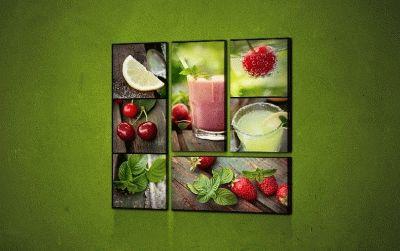 Картина фруктовые напитки