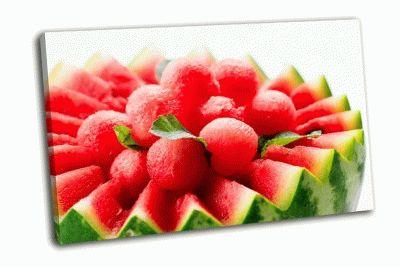 Картина фруктовый салат арбуз