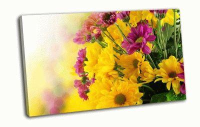 Картина желтые цветы