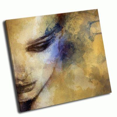 Картина женское лицо