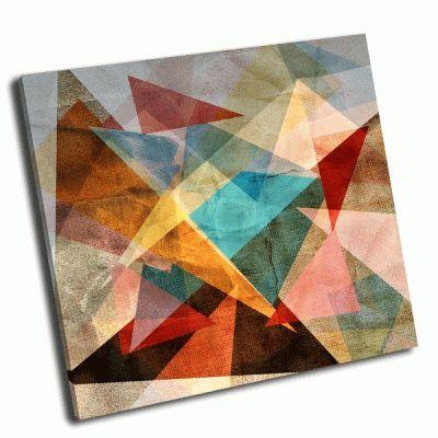 Картина геометрические абстрактный узор