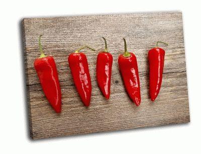 Картина жгучий красный перец