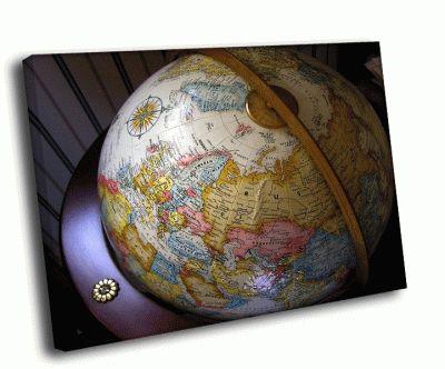 Картина глобус