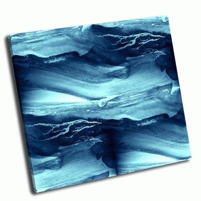 Картина голубые волны моря