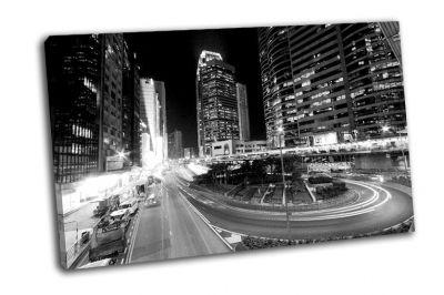 Картина гонконг ночью
