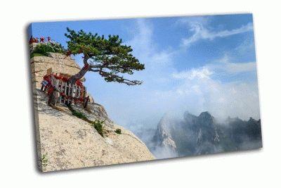 Картина гора хуашань в шэньси