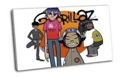 Картина gorillaz,
