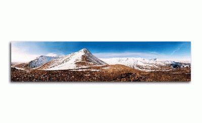 Картина горные вершины в исландии