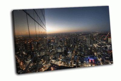Картина городской пейзаж мельбурна