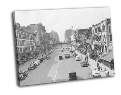 Картина городской пейзаж нью-йорка