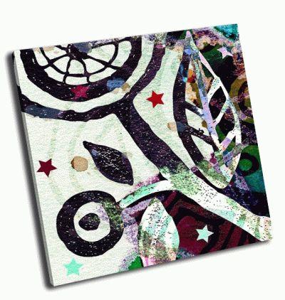Картина граффити звезды