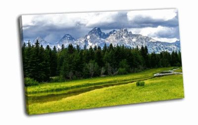 Картина grand teton national park