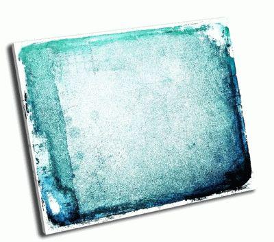 Картина гранж синий абстрактный фон