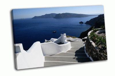 Картина греческий остров