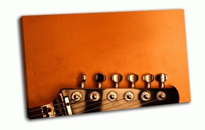 Картина гриф гитары