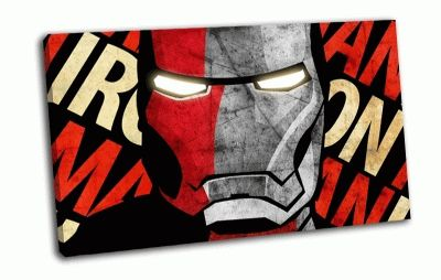 Картина iron man