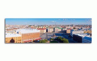 Картина исаакиевская площадь, панорама сверху