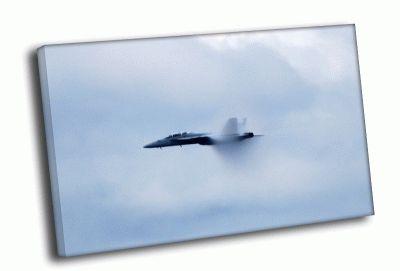 Картина истребитель в воздухе