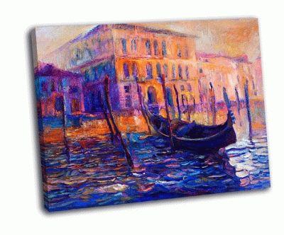 Картина италия на закате
