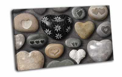 Картина камушки
