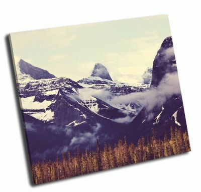 Картина канадские горы