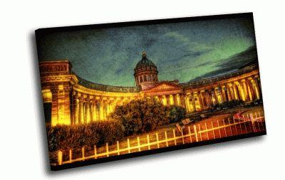 Картина казанский в огнях